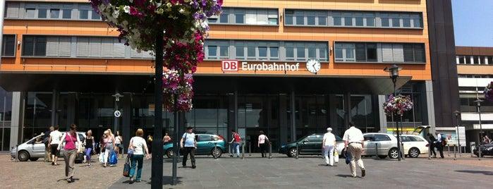 Saarbrücken Hauptbahnhof is one of Ausgewählte Bahnhöfe.