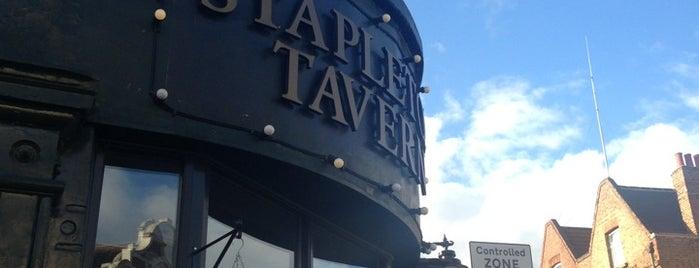 The Stapleton Tavern is one of London Pubs - Ambrosia.
