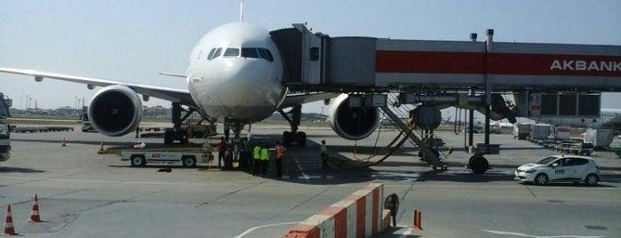 International Terminal Departure is one of İstanbul'da En Çok Check-in Yapılan Mekanlar.