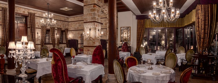 Seraser Fine Dining Restaurant is one of Kaleici-Antalya.
