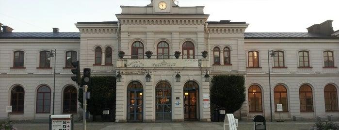 Norrköping Centralstation is one of Tågstationer - Sverige.