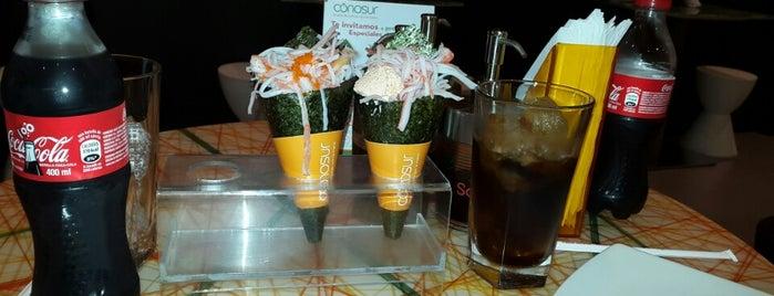 Conosur Macarena is one of comida col.
