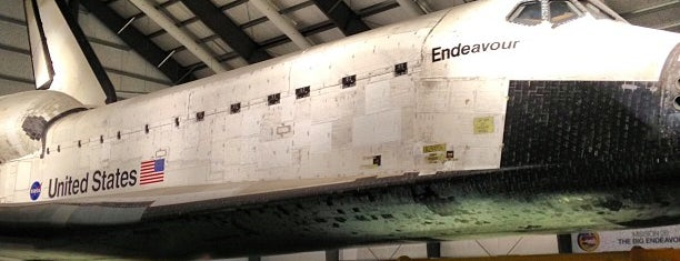 Space Shuttle Endeavour is one of Places For Play.