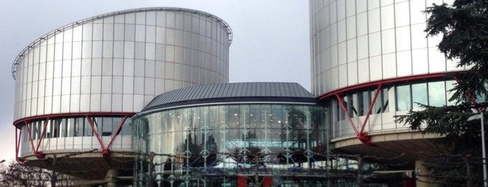 Tribunal Europeo de Derechos Humanos is one of Strasbourg.