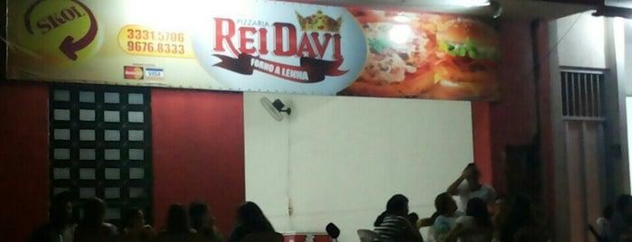 Pizzaria Rei Davi is one of assu.