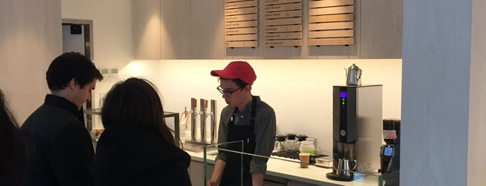 Blue Bottle Coffee is one of The 15 Best Coffee Shops in New York City.
