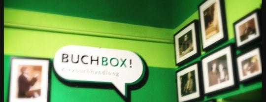 BUCHBOX! is one of Berlin Friedrichshain favs.
