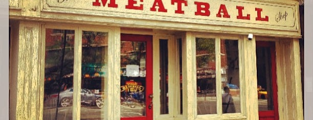 The Meatball Shop is one of Hoff's hood.