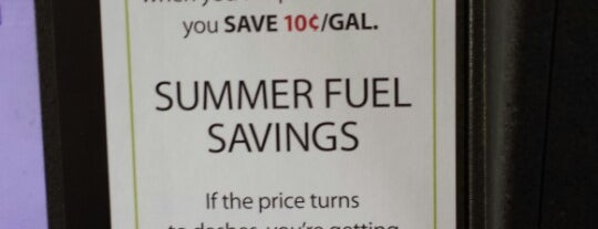 BJ's Gas is one of ** my list **.