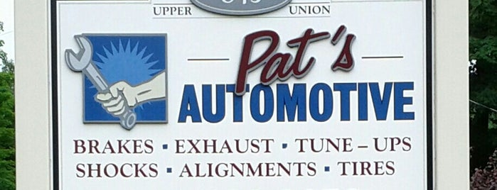 Pat's Automotive is one of Go to Apple Store.