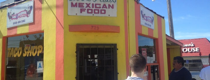 Los Dos Pedros is one of San Diego: Taco Shops & Mexican Food.