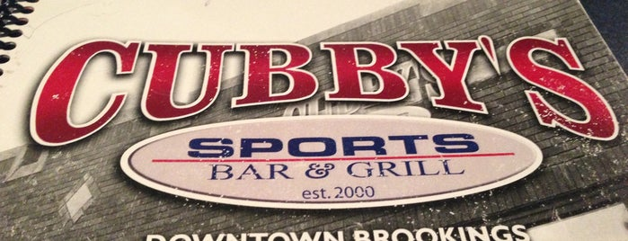 Cubby's Sports Bar and Grill is one of The best after-work drink spots in Brookings, SD.