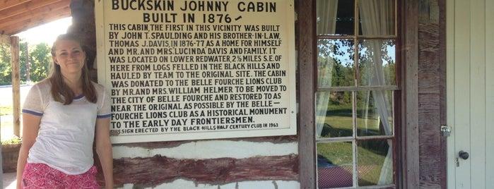 Buckskin Johnny Cabin is one of Rapid City, SD.
