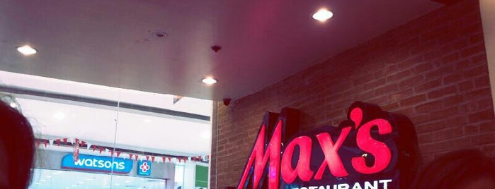 Max's Restaurant is one of Places.