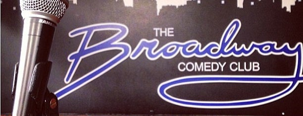 Broadway Comedy Club is one of NYC spots.