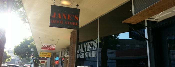 Jane's Beer Store is one of My favorites for Food & Drink Shops.