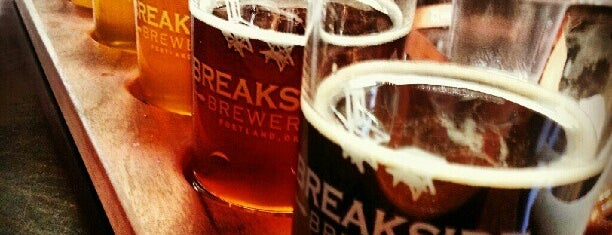 Breakside Brewery is one of Portland by Bike.