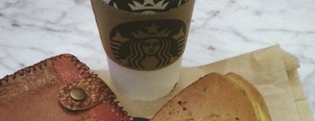Starbucks (星巴克) is one of Food/Drink.