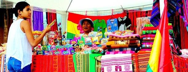 Feira Boliviana is one of São Paulo Tem.