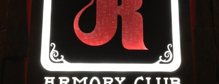 The Armory Club is one of Happy Hour? Happy day!.