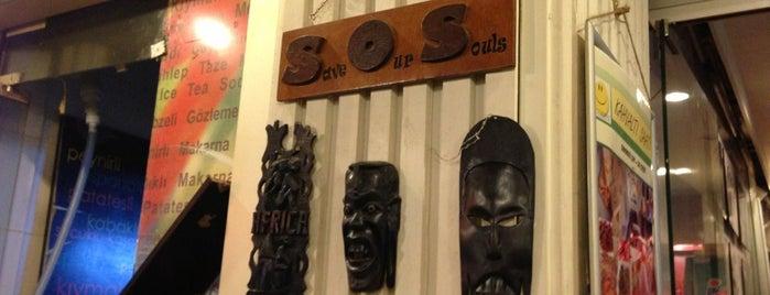 S.O.S. Cafe is one of 'Daha ne kadar buraya geleceğim' mekanları.