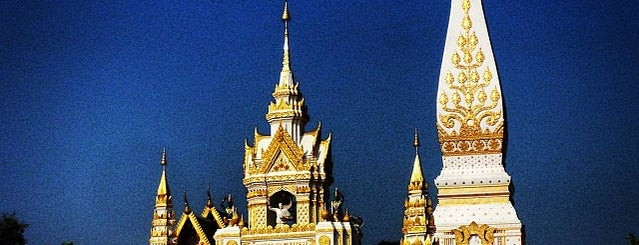 Wat Phra That Phanom is one of ไหว้พระธาตุปีเกิด 12 ปีนักษัตร เสริมบารมี.