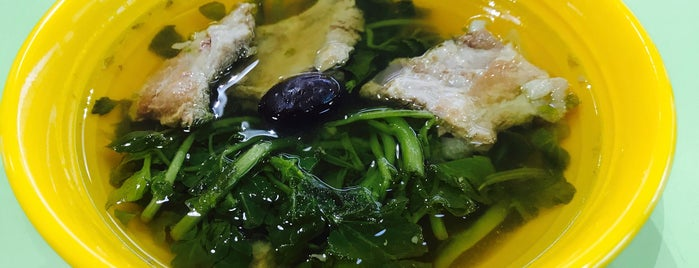 Herbal Kitchen - Herbal Chicken Soup is one of Hole-in-the-Wall finds by ian thomtori.