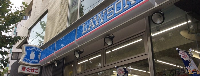 Lawson is one of 渋谷.