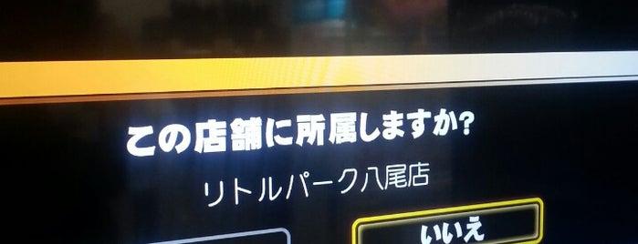 リトルパーク八尾 is one of 関西のゲームセンター.
