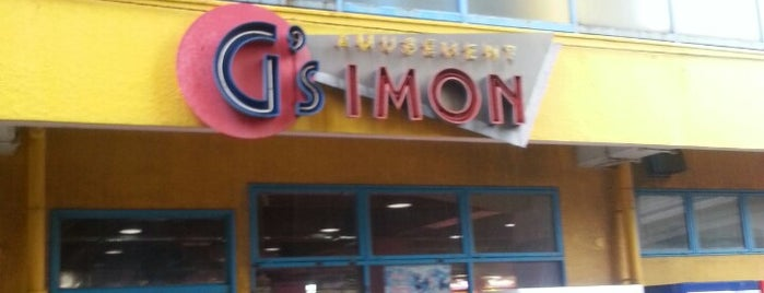 G's IMON is one of ゲーセン.