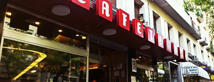 Cafetería HD is one of MADRID ★ Hamburguesas ★.