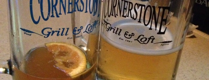 Cornerstone Grill & Loft is one of places to dine.