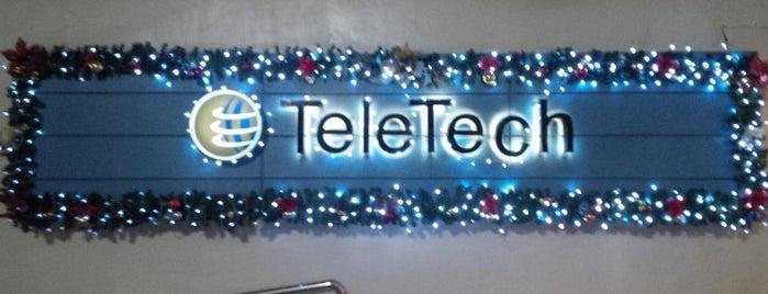 TeleTech is one of The (Metro) Manila BPO List.