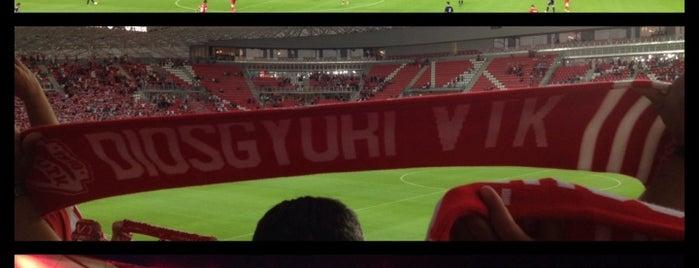 Nagyerdei Stadion is one of Stadionok.