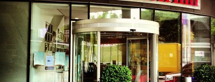 Hilton Garden Inn Stuttgart NeckarPark is one of Mis hoteles favoritos.