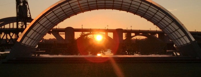 Raspberry Island on Great River Passage is one of The 15 Best Places for Sunsets in Saint Paul.