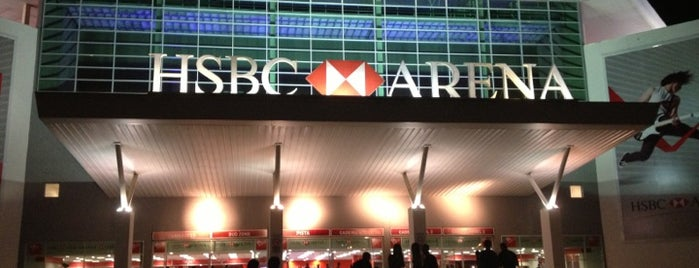 HSBC Arena is one of Rio Pra Mim.