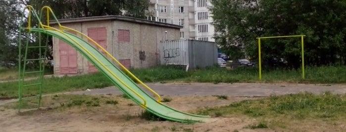Молодежный бул., 1 is one of Чокак.