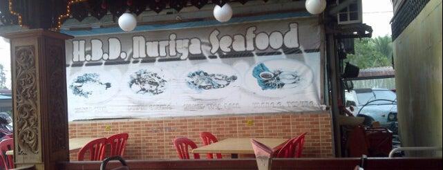H.B.D. Nuriya Seafood is one of Makan @ Utara #12.