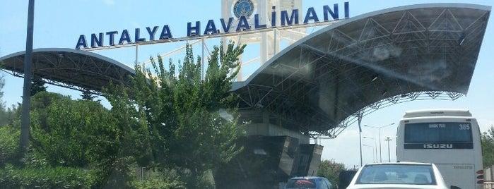 Antalya Havalimanı (AYT) is one of Türkiye'de En Çok Check-in Yapılan Mekanlar.