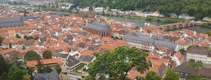Heidelberg is one of boggle.