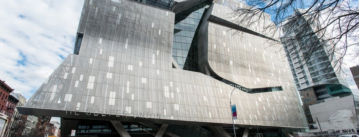 The Cooper Union is one of The East Village List by Urban Compass.