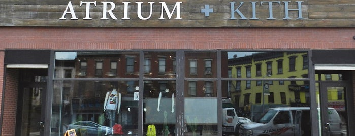Atrium + Kith is one of NYC - Stores.