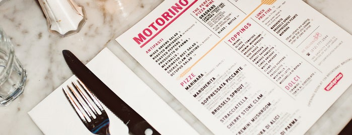 Motorino is one of The East Village List by Urban Compass.
