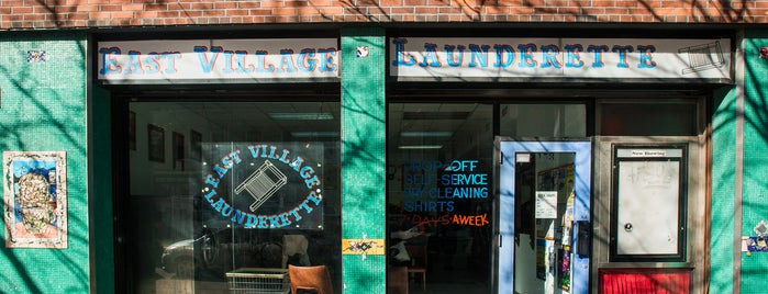 Launderette is one of The East Village List by Urban Compass.