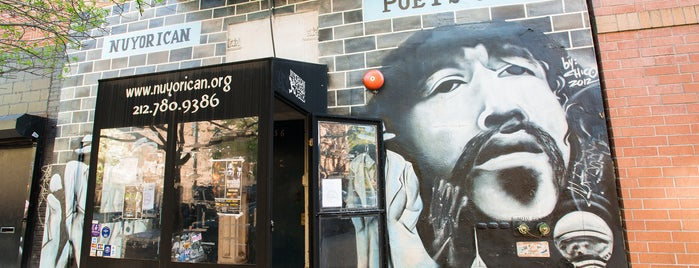 Nuyorican Poets Cafe is one of The East Village List by Urban Compass.