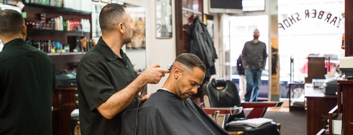East 6th Street Barber Shop is one of The East Village List by Urban Compass.