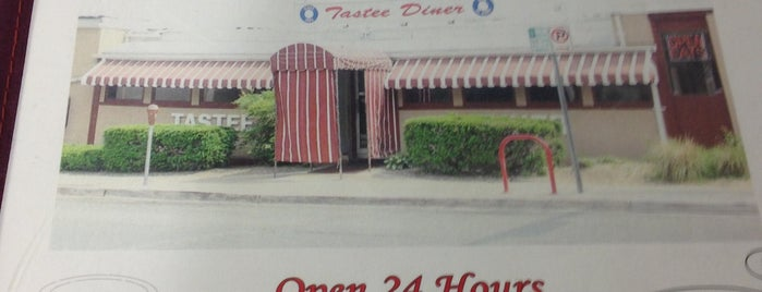Tastee Diner is one of Local restaurants with 50+ Years.