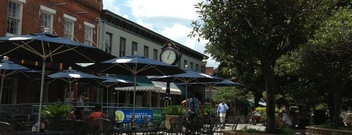 City Market Savannah is one of Savannah.