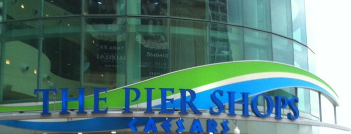 The Pier Shops at Caesars is one of Places where the mayor is an employee.
